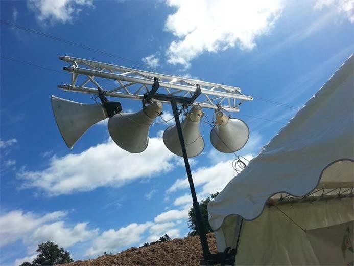 Projecteurs d'images sur Brive-la-Gaillarde | Sud Ouest Son